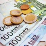 Европейские деньги Стоковое Изображение RF