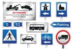 европейские дорожные знаки Стоковые Фото
