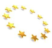 европейские звезды Стоковые Фотографии RF