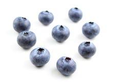 Европейские изолированные плодоовощи голубики Стоковые Фотографии RF