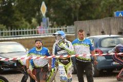 Европейские индивидуальные выпускные экзамены чемпионата скоростной дороги U21 Стоковое фото RF
