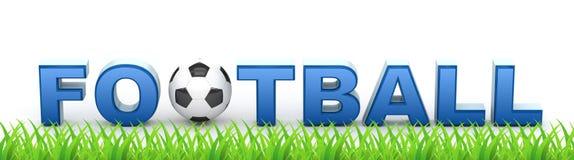 европейские потребители футбола иконы Стоковое Изображение RF