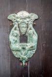 Европейские старые двери которые выдерживали испытание времени Стоковая Фотография