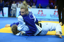 Европейские чемпионаты Варшава 2017 дзюдо, Стоковая Фотография