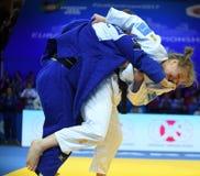 Европейские чемпионаты Варшава 2017 дзюдо, Стоковая Фотография RF