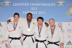 Европейские чемпионаты 2013 дзюдо Стоковые Фото