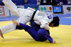 Европейские чемпионаты 2013 дзюдо Стоковое Изображение