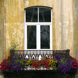 Европейский балкон Стоковая Фотография RF
