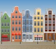 Европейский городок Стоковые Изображения