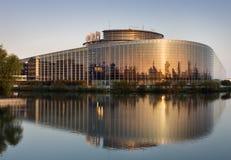 Европейский парламент Стоковая Фотография RF