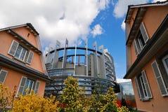 Европейский парламент стоковые изображения rf