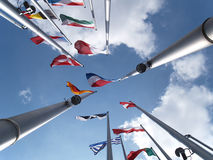 Европейский парламент стоковое изображение