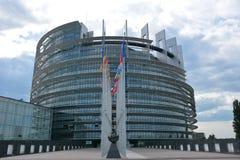 Европейский парламент Стоковая Фотография