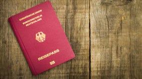 Европейский пасспорт Стоковые Фото
