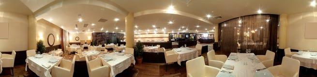 Европейский ресторан в ярких цветах Стоковое Изображение