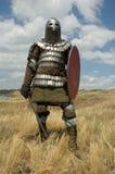 европейский рыцарь средневековый Стоковое Изображение