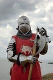 европейский рыцарь средневековый стоковая фотография