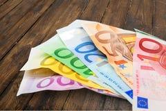 Европейский союз валюты Стоковые Фотографии RF