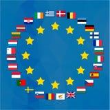 Европейский союз Стоковое Изображение