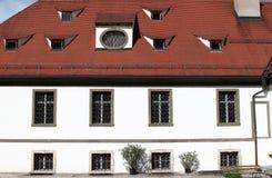 европейский тип дома Стоковая Фотография
