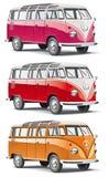 европейский фасонируемый старый фургон Стоковое Фото