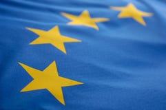 Европейский флаг Стоковые Изображения