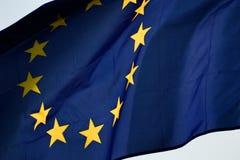 европейский флаг Стоковое фото RF