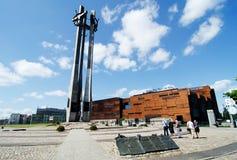 Европейский центр солидарности, Гданьск Стоковое Изображение
