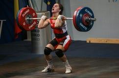 Европейский чемпионат поднятия тяжестей, Бухарест, Румыния, 2009 Стоковое Изображение RF