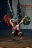 Европейский чемпионат поднятия тяжестей, Бухарест, Румыния, 2009 Стоковые Фотографии RF