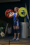 Европейский чемпионат поднятия тяжестей, Бухарест, Румыния, 2009 Стоковое Изображение