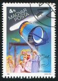 Европейское космическое агентство Giotto Стоковая Фотография