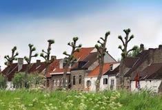 европейское село ландшафта стоковые фото
