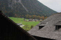 европейское село Стоковая Фотография
