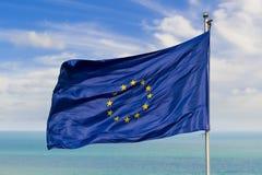 европейское соединение флага стоковая фотография rf