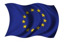 европейское соединение флага Стоковые Фото