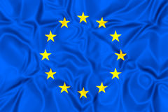 европейское соединение флага Стоковые Фотографии RF