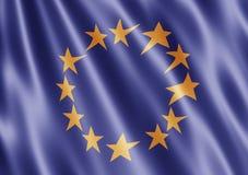 европейское соединение флага Стоковое Фото