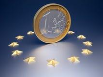 евро валюты Стоковое фото RF