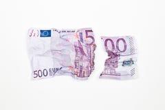 евро валюты Стоковое Изображение