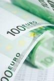 евро валюты кредиток схематическое 55 10 Стоковая Фотография