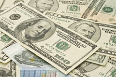 евро доллара кредиток Стоковые Изображения