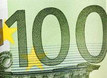 100 евро европейский Стоковые Изображения