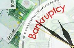 евро кредиток предпосылки Стоковые Изображения RF