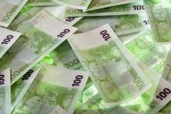 евро кредиток Стоковые Фотографии RF