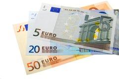 евро кредиток Стоковое Изображение