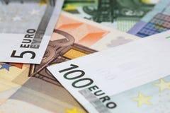 евро кредиток Стоковое фото RF