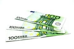 евро кредитки 100 одних Стоковая Фотография RF