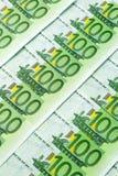 евро кредиток 100 одних Стоковое фото RF