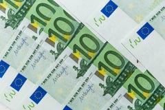 евро кредиток 100 одних Стоковое Фото